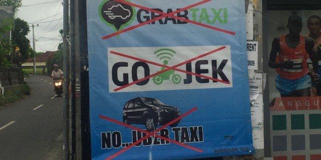 Uber in Bali